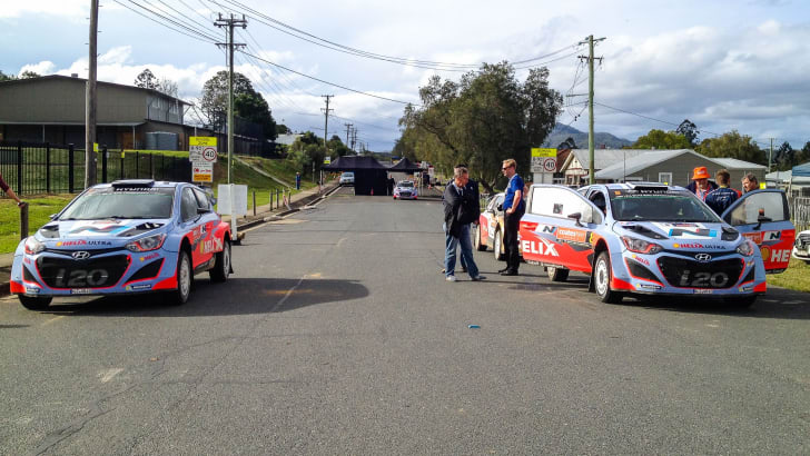 WRC Rally Australia 2014 - 15