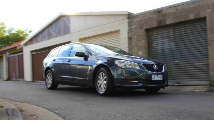 Holden VF Sportwagon Vs Mazda 6 Touring - 48