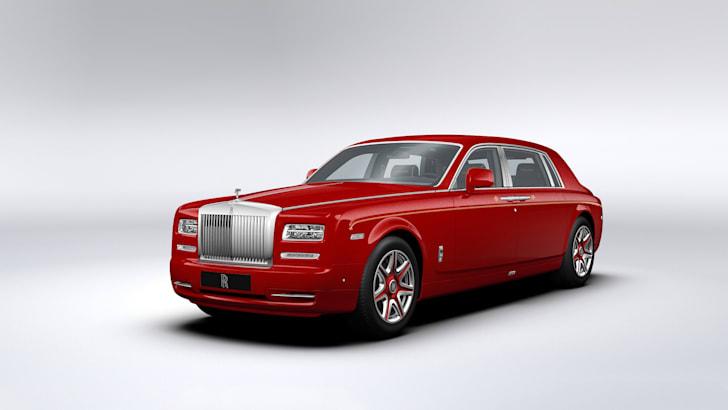 Rolls-Royce Phantom Louis XIII - front