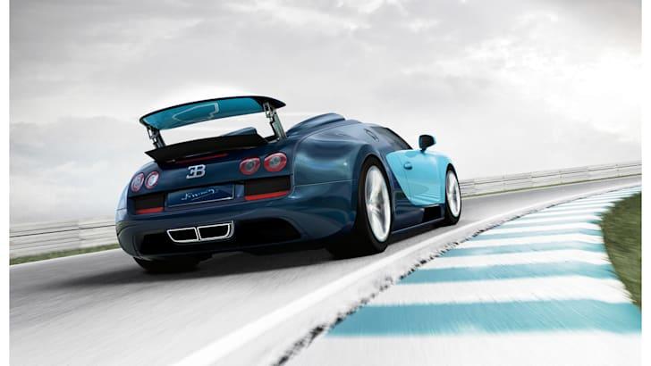 Bugatti Veyron rear cornering