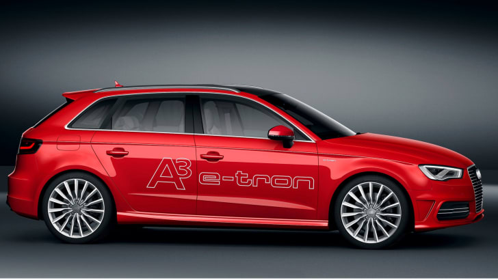 Audi A3 e-tron profile