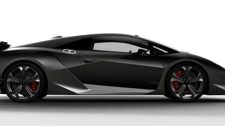 Lamborghini Sesto Elemento - Side