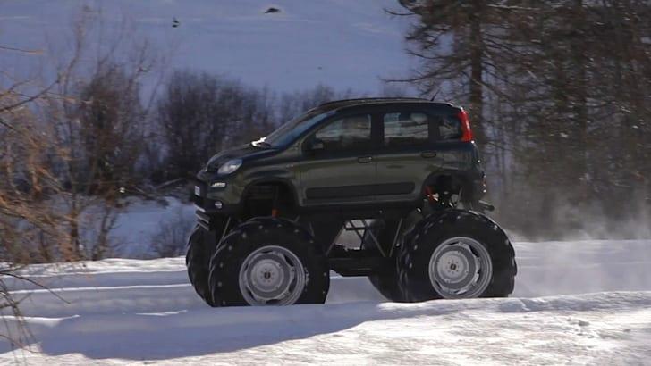 Fiat Panda 4x4 Monster Truck - 3