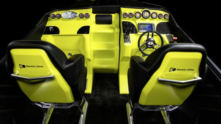 Cigarette AMG Electric Drive Concept Powerboat - 5