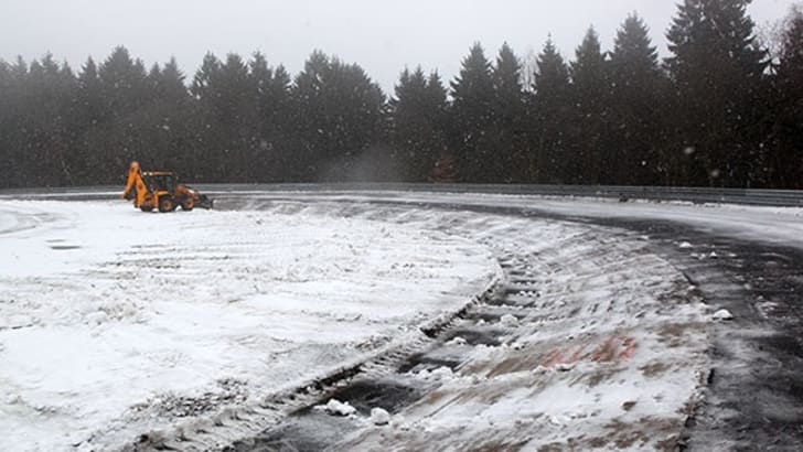 Nurburgring - Snow