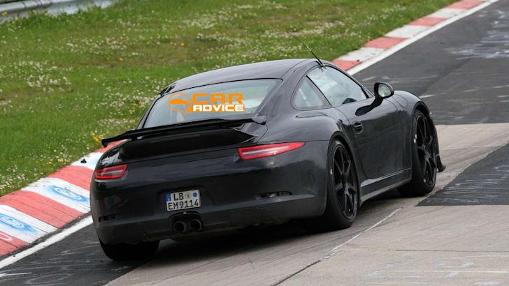 Porsche 911 GT3 spy shots - 7