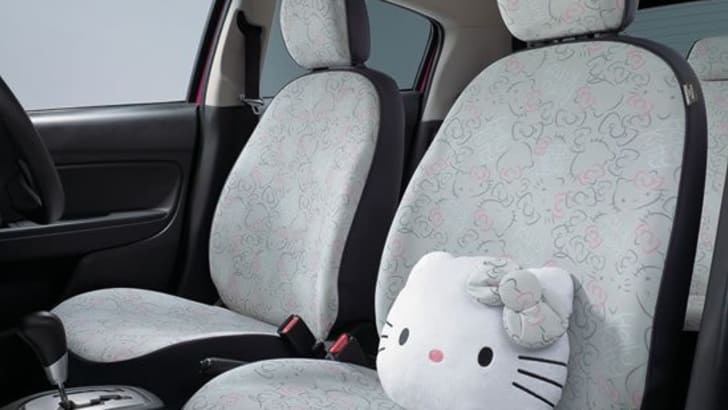 Mitsubishi Mirage Hello Kitty Edition - 3