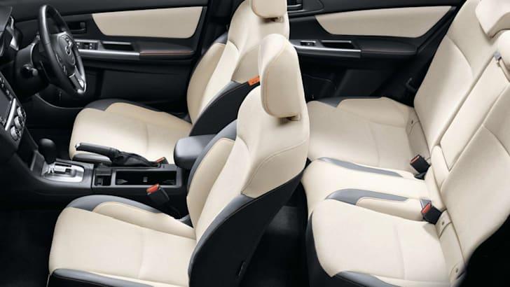 2016 Subaru XV 2.0i interior Ivory