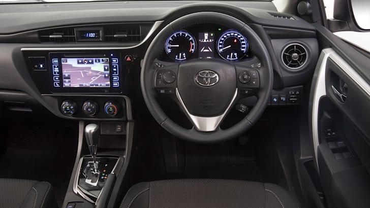 2017 Toyota Corolla SX Sedan.