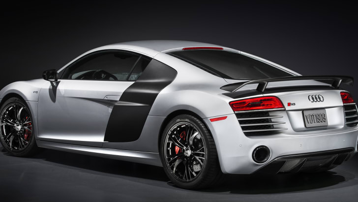 Audi R8 Competition - rear