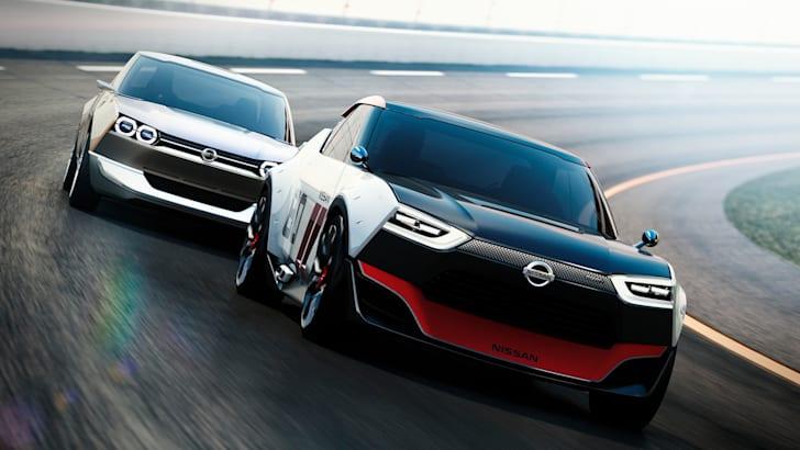 Nissan IDx twins on track
