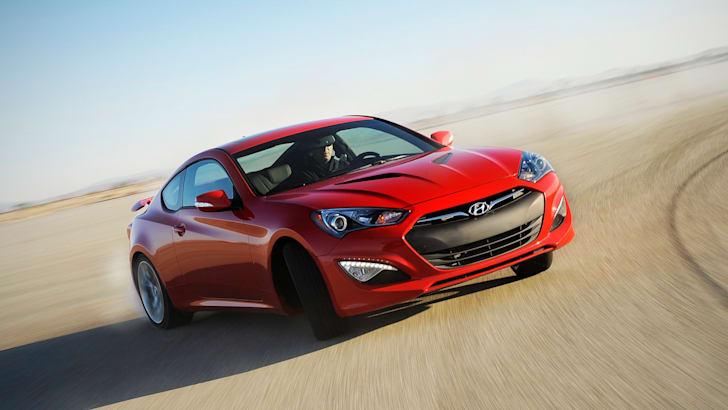 Hyundai Genesis Coupe - 1