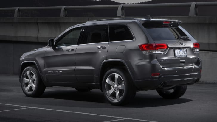 Jeep Grand Cherokee Limited profile
