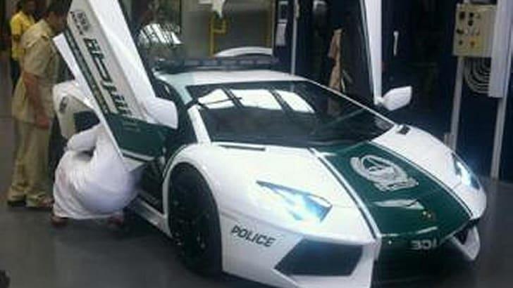 Dubai Police Lamborghini Aventador - 3