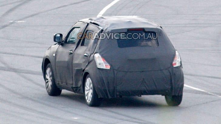 2010 Suzuki Swift prototype spied