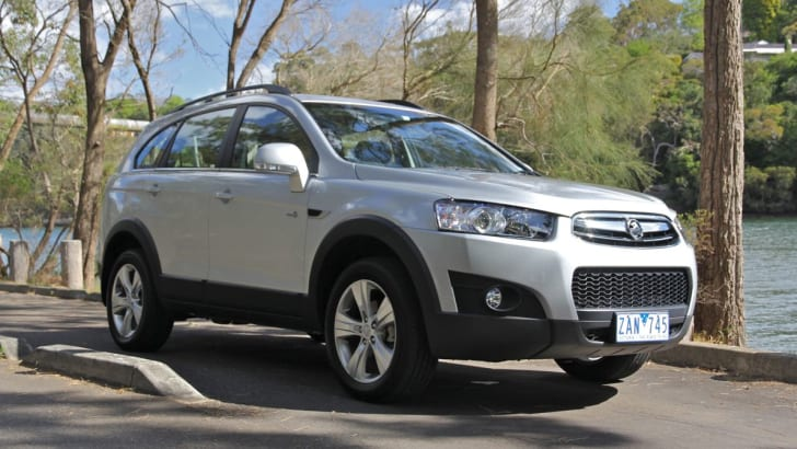 Holden Captiva 711