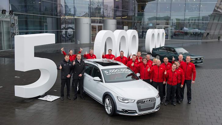 Audi's five millionth quattro - 2