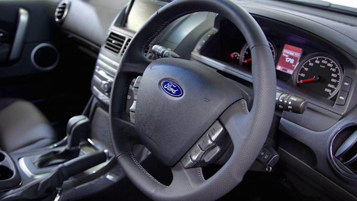 Ford Territory steering wheel