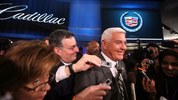 Bob Lutz Talks With Media About 2009 Cadillac CTS-V