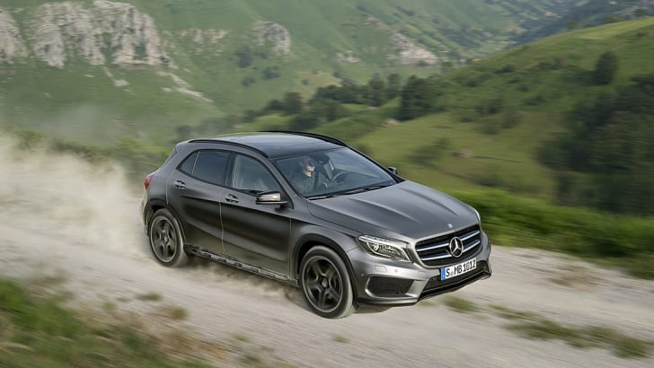 Mercedes-Benz GLA official leak 9