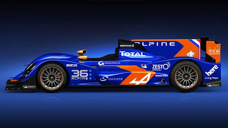 Alpine LM P2 - 2