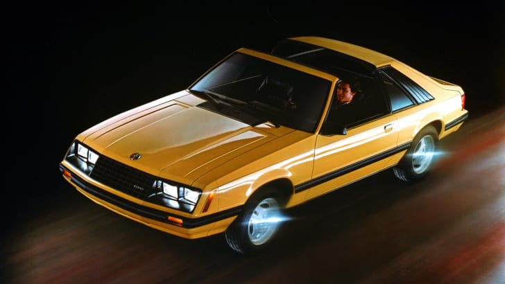 1982 Ford Mustang GLX t-roof