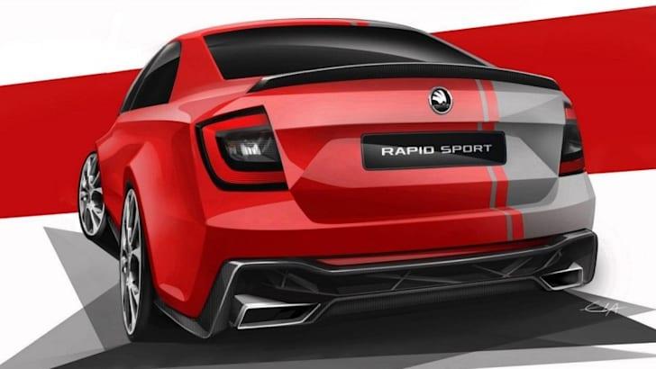 Skoda Rapid Sport Concept - 2