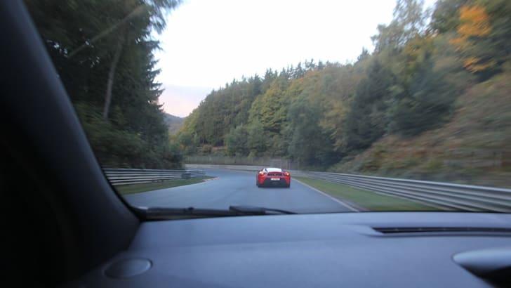 The Nurburgring expreinece: Renualt Megane RS26541