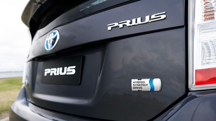 Toyota Prius - Rear Badges