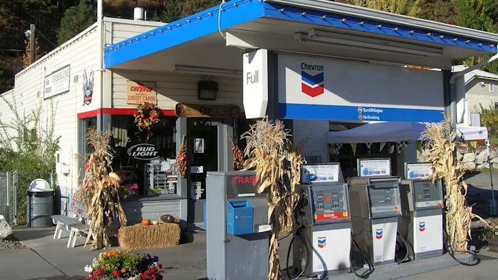 chevron-petrol-station
