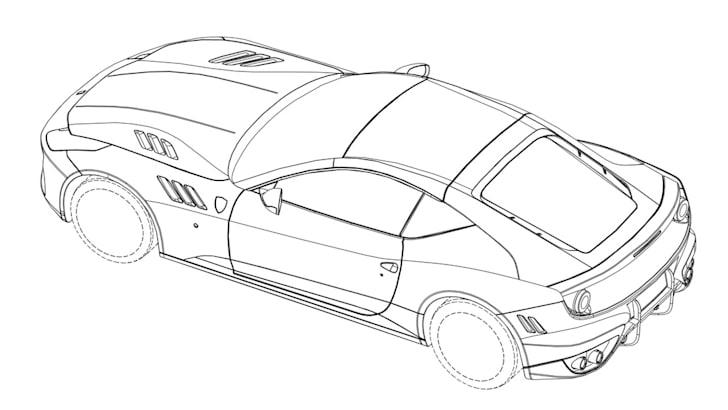 Ferrari patent images - 6