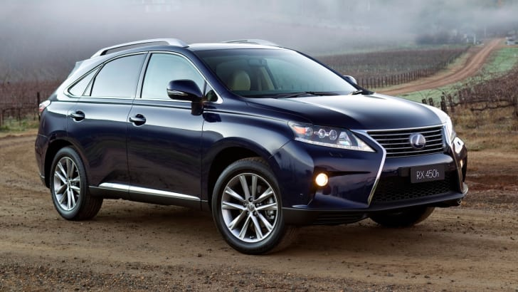 2012 Lexus RX 450h Sports Luxury