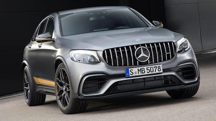 Mercedes-AMG GLC 63 S 4MATIC+ Coupé Edition 1 ;Kraftstoffverbrauch kombiniert: 10,7 l/100 km; CO2-Emissionen kombiniert: 244 g/km Mercedes-AMG GLC 63 S 4MATIC+ Coupé Edition 1; Fuel consumption combined: 10.7 l/100 km; combined CO2 emissions: 244 g/km