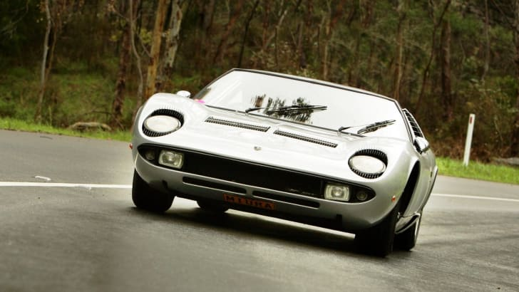 Lamborghini... Graham Lawrence... Bay to Birdwood. Pic James knowler