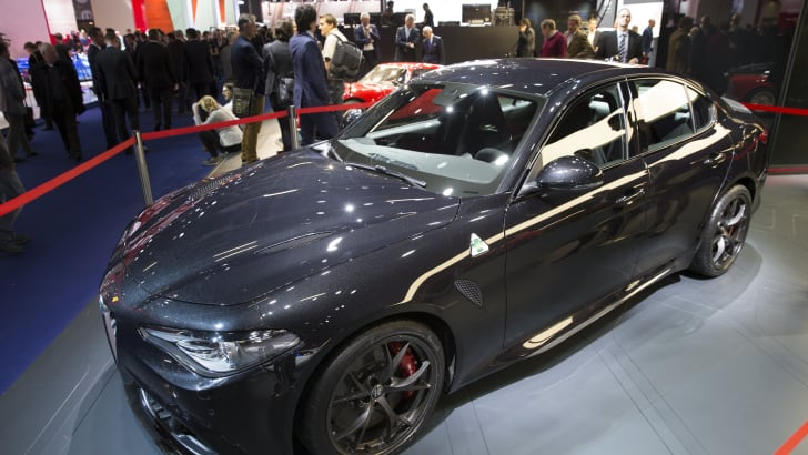 Alfa Romeo Giulia - 2015 IAA September 17 - 27, 2015, Frankfurt, Germany