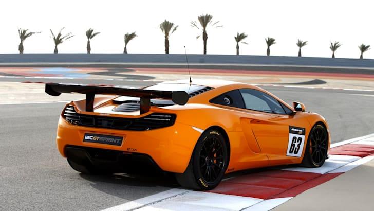 McLaren 12C GT Sprint3