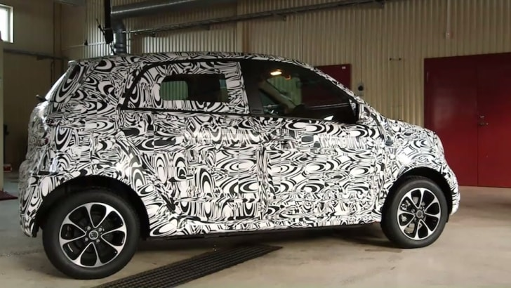 Smart ForFour Spied-1