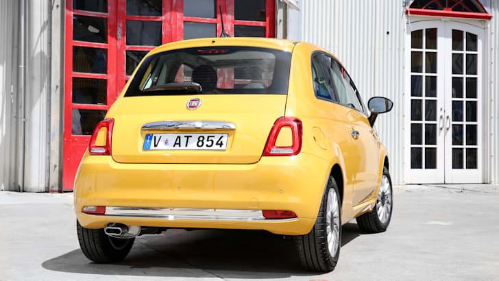 2016 Fiat 500 Lounge - Rear 2