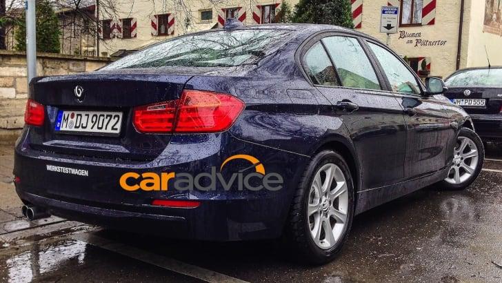 BMW 3 Series LCI Spied - 4