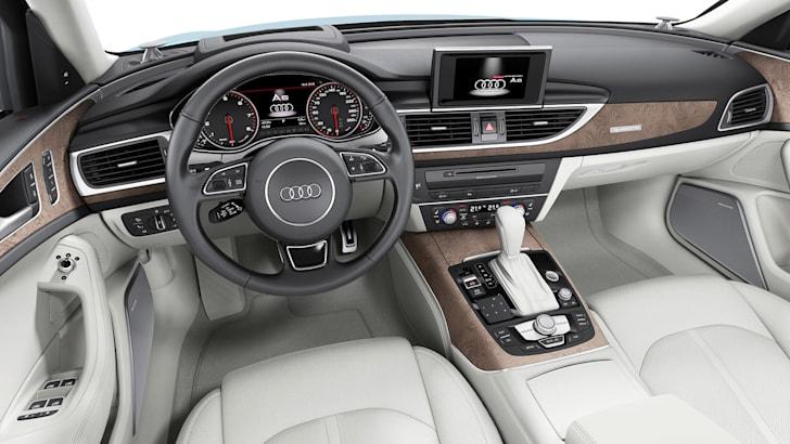 Audi A6 update - interior