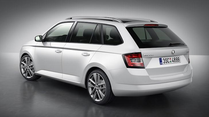 Skoda Fabia wagon - rear