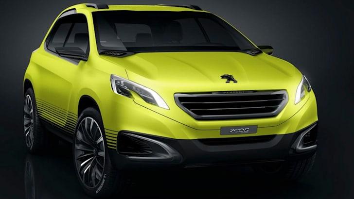 Peugeot 2008 Concept - 1