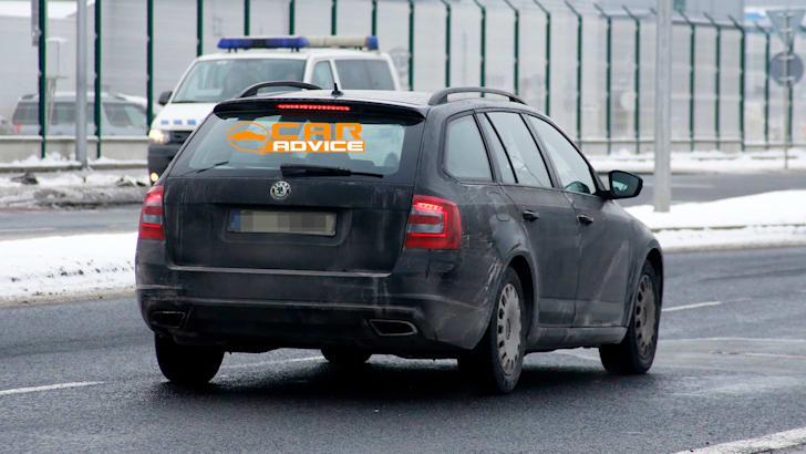 Skoda Octavia Wagon RS Spied - 6