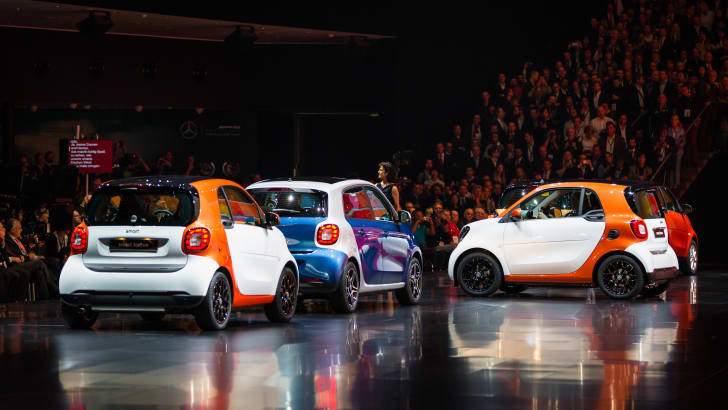Smart For2 - 2015 IAA September 17 - 27, 2015, Frankfurt, Germany