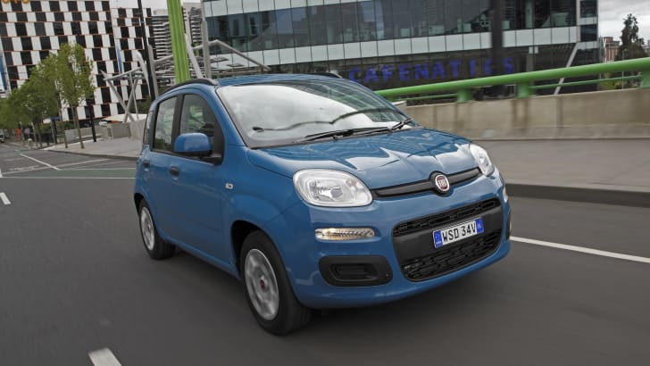 Fiat Panda Easy cruising