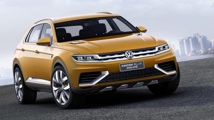 Volkswagen CrossBlue Coupe concept - 3