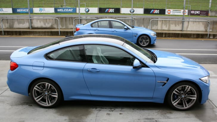 BMW M3 and M4 track testing_35