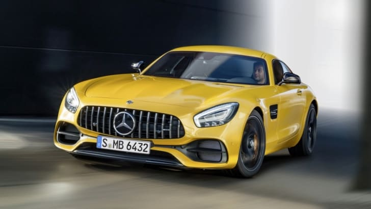 Mercedes-AMG GT S, c190, 2017