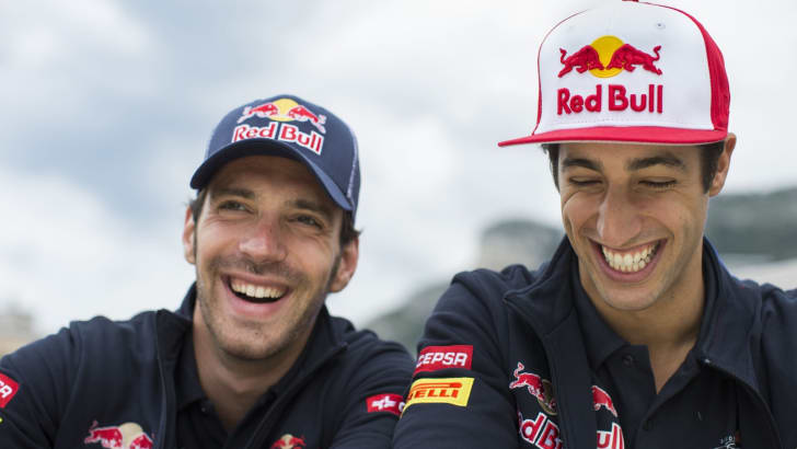 Jean-Eric Vergne and Daniel Ricciardo - Lifestyle