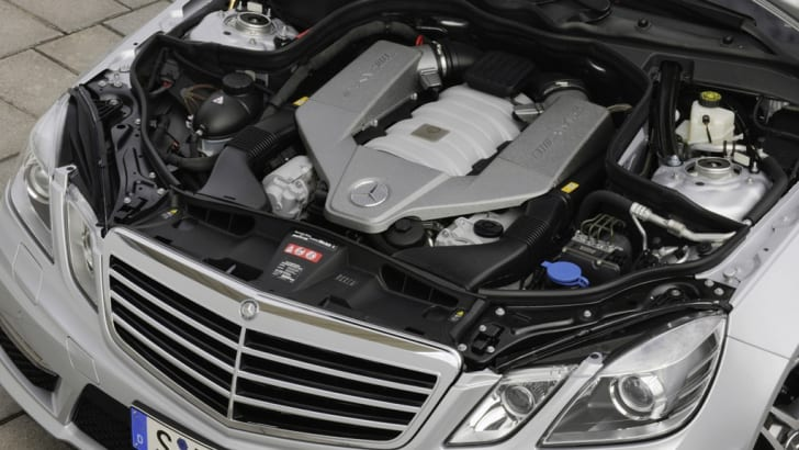 2009 Mercedes-Benz E63 AMG early look